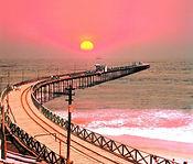 Pimentel station balneaire plage soleil  Chiclayo Lambeyeque visite au Pérou