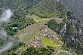 Ascension  au Huayna Picchu au Machu Picchu