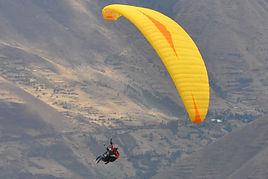 tentation au Pérou Parapente à Cusco