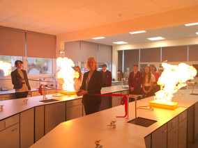 OFFICIAL OPENING OF SCIENCE LABORATORY