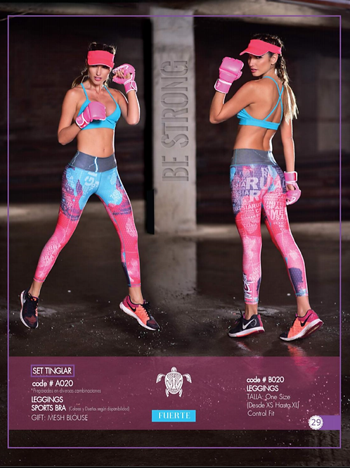 Leggins Compression Ref: A020
