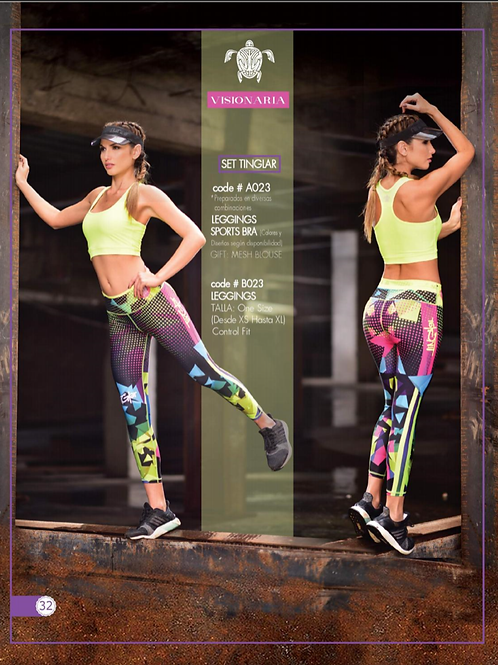 Leggins Compression Ref: A023