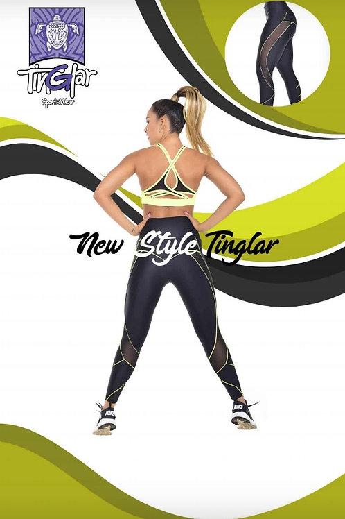 Set legginss + Sports Bra one Size