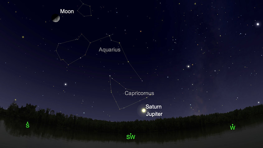 Here's how to see the rare 'Christmas Star' on Monday Evening