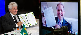 NASA Administrator Signs Statement of Intent with Brazil on Artemis Cooperation