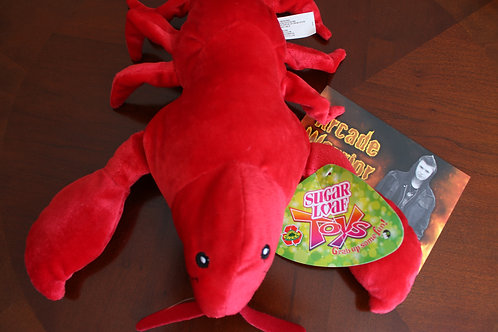 Red Lobster Plush Toy