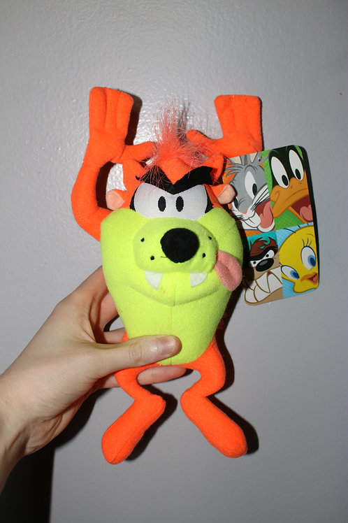 Looney Tunes Orange TAZ Plush Toy