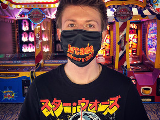 The Arcade Warrior Mask