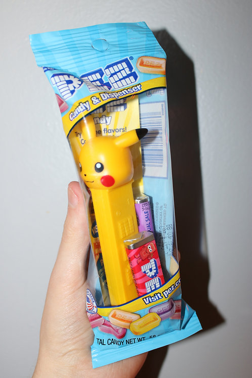 Pikachu Pokemon Pez Toy