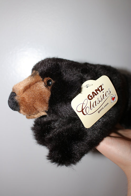 Ganz Classics Black Bear Plush Toy