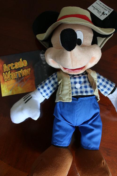 Fisherman Mickey Mouse Plush Toy
