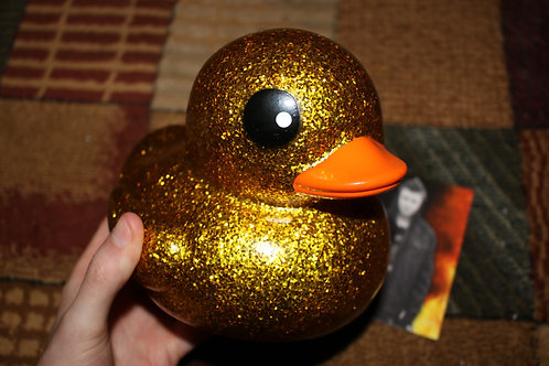 Big Gold Rubber Duck Toy