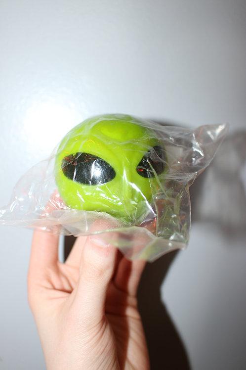 Squishy Alien Head Toy