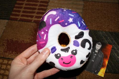 Mini Cow Donut Plush Toy