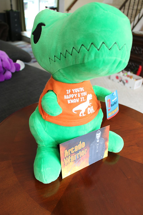 GIANT Dinosaur Carnival Plush Toy