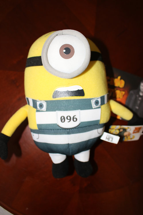 Prison Minion Plush Toy