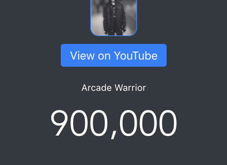 900,000 SUBSCRIBERS ON YOUTUBE!