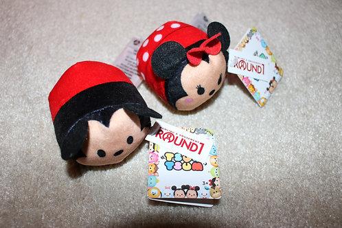 Mickey & Mini Mouse Tsum Tsum Plush Toy Set