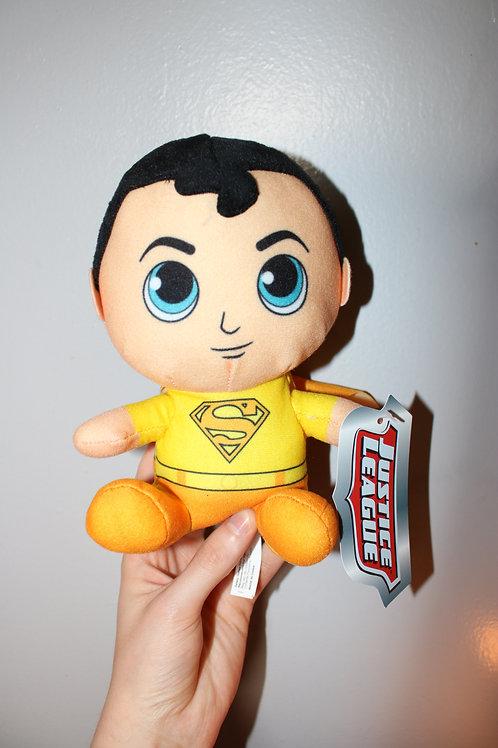 Yellow Superman Plush Toy