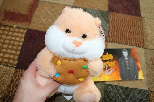 Cute Cookie Hamster Plush Toy