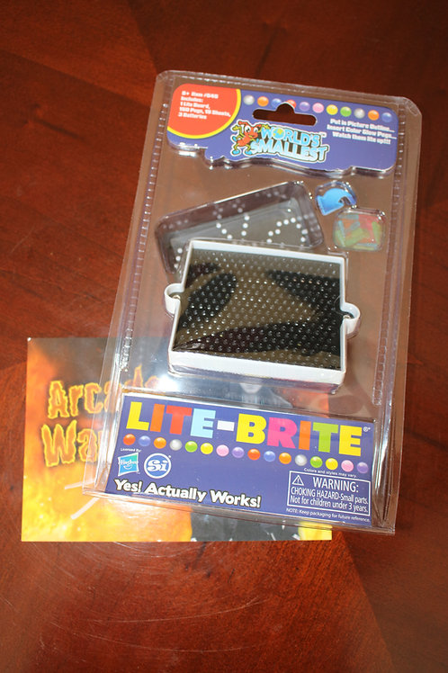The World's Smallest Lite-Brite Toy