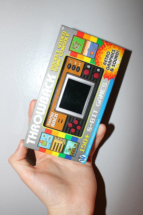Throwback Pocket Video Game Toy