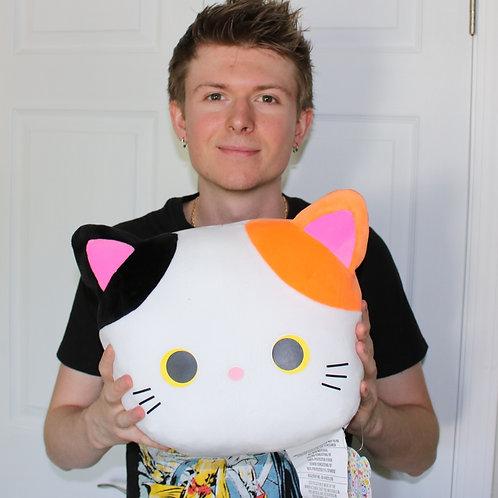 Big Smile Japanese Cat Plush Toy