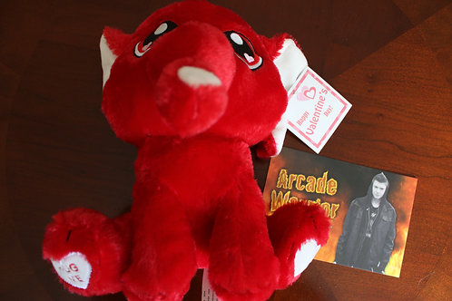 Red Elephant Plush Toy