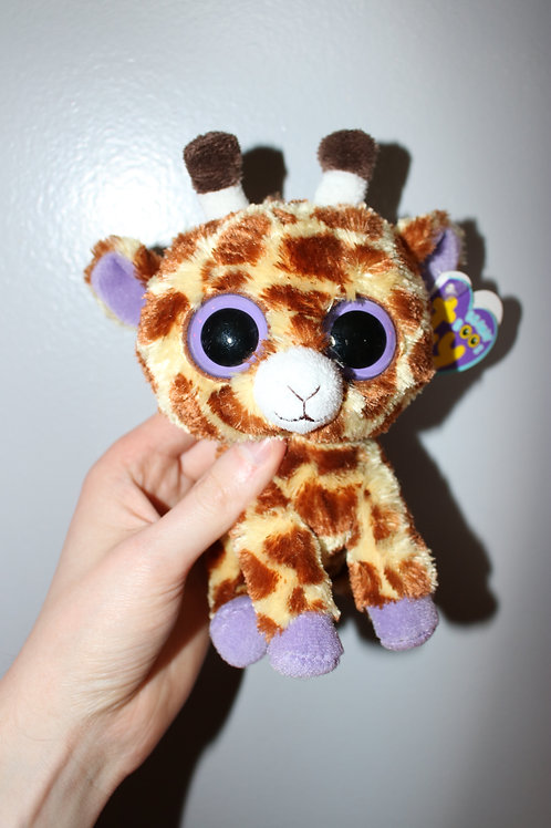 TY Giraffe Beanie Baby Plush Toy