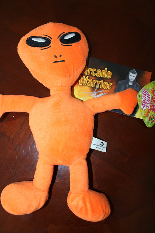 Orange Alien Plush Toy