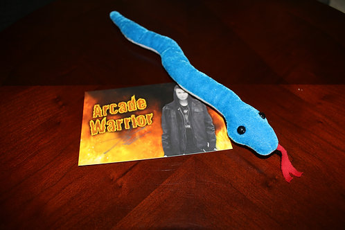 Blue Snake Plush Toy
