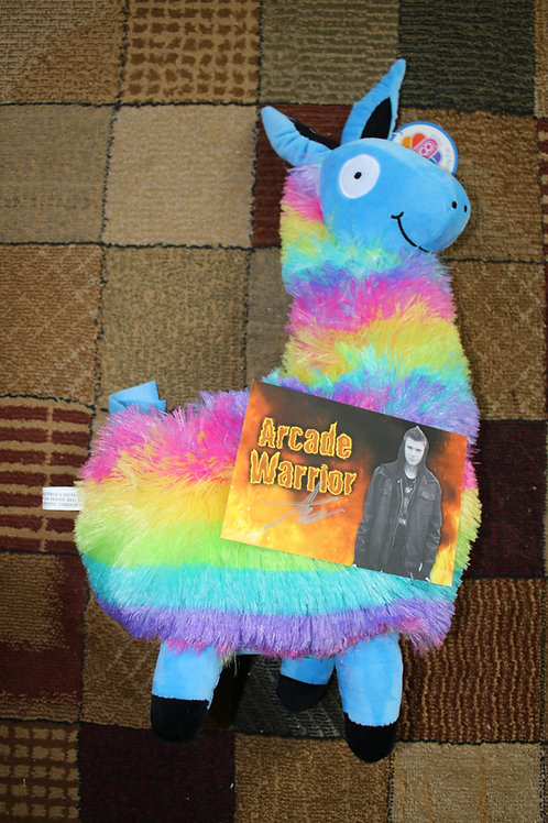 Giant Rainbow Llama Plush Toy