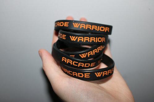 Arcade Warrior Rubber Bracelets (5 Pack)