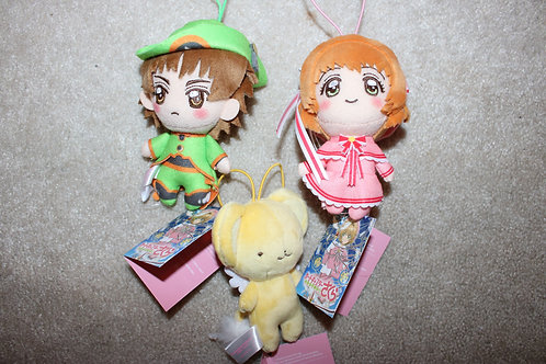 Shakura Japanese 3 Mini Plush Toy Set