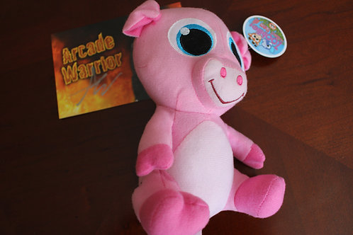 Cute Pink Piggy Plush Toy