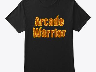 BRAND NEW ARCADE WARRIOR MERCH!