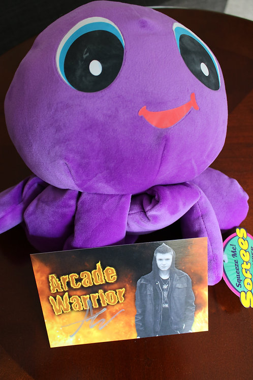 Purple Octopus Plush Toy