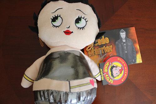 Silver Betty Boop Plush Toy