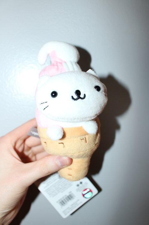 Nyan Nyan Nyanko Ice Cream Cat Plush Toy