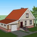 Визуализация проекта для постройки собственного дома