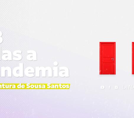 Las tres salidas a la pandemia según Boaventura de Sousa Santos