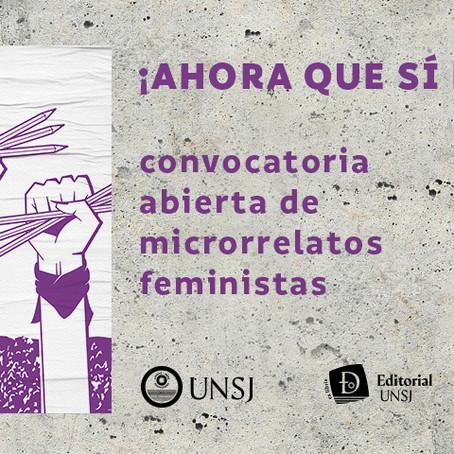 MICRORRELATOS FEMINISTAS: ¡AHORA QUE SÍ NOS LEEN!
