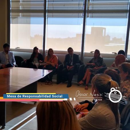 Primera reunión mensual de la Mesa de Responsabilidad Social