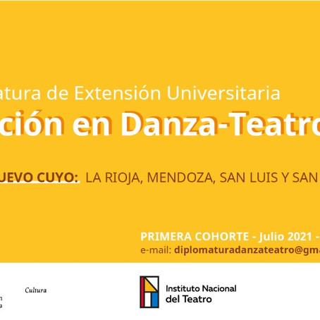 Diplomatura de extensión universitaria: Creación en Danza-Teatro
