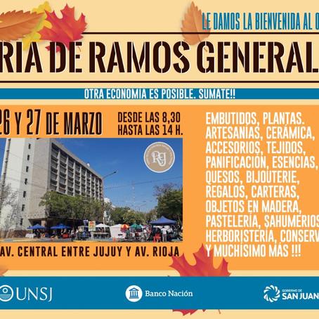 Nueva edición de la Feria de Ramos Generales