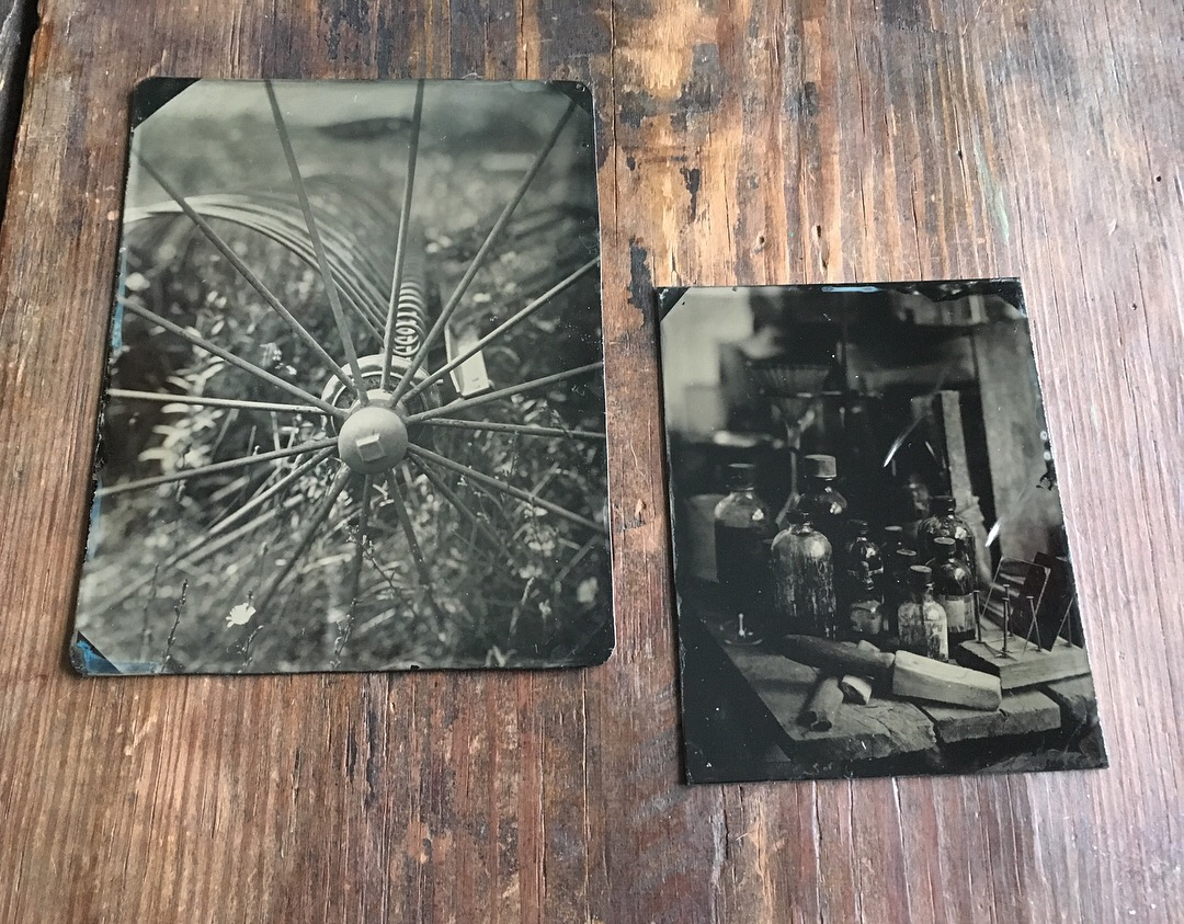 made at John Coffer Camp Tintype