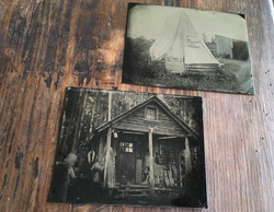 John Coffer's Camp Tintype