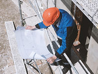 Looking Over Architectural Plans