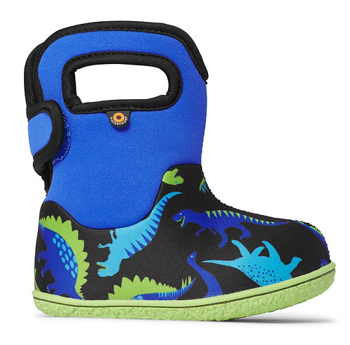 BOGS BABY DINO ELECTRIC BLUE
