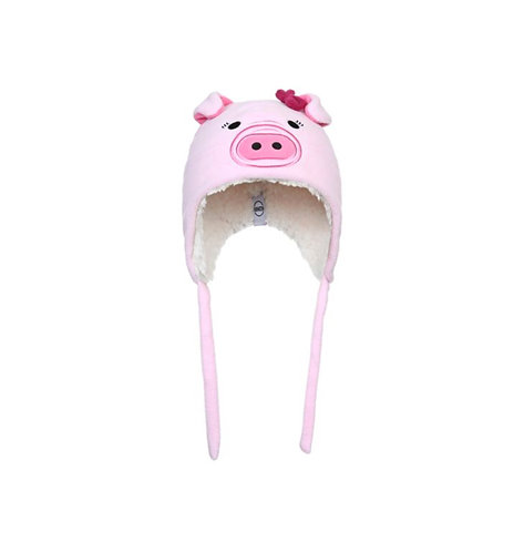 2444 Sherpa Animal INFANT Pinky the pig